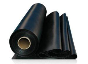 czarna guma
